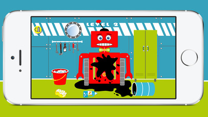 Robo Rocket by Jaca Bee - Robot game for preschool children screenshot