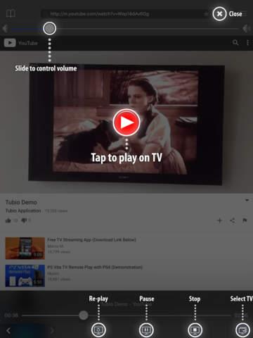 Tubio – Онлайн-видео по TV, Chromecast, Roku Screenshot