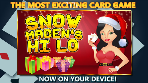 Ace or King Hi Lo - Casino Style Higher or Lower Card Game Holiday Special