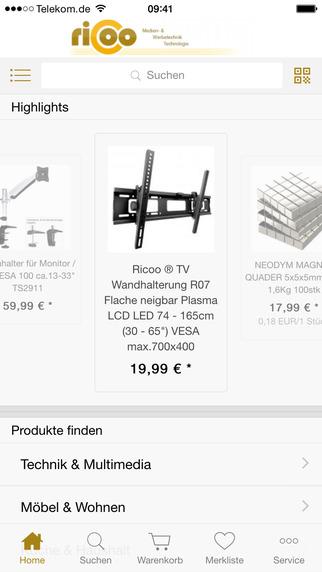 Ricoo Multimedia- Haushalt- Gewerbe-Online Shop