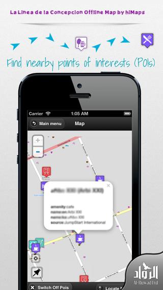 La Linea de la Concepcion Offline Map by hiMaps