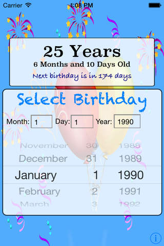 Whats My Age Calculator Pro screenshot 2
