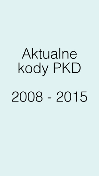 Kody PKD Premium