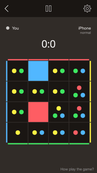 Forcos — Difficult Fast-Paced Puzzle Game For Two Players