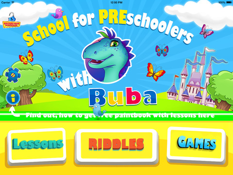Buba's Jr Academy : Enhance Kids' Preschool Kindergarten Academic Curriculum. From ABCs and 123s to