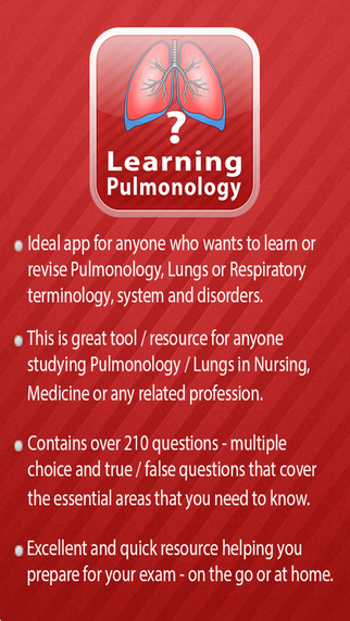 Learning Pulmonology Quiz