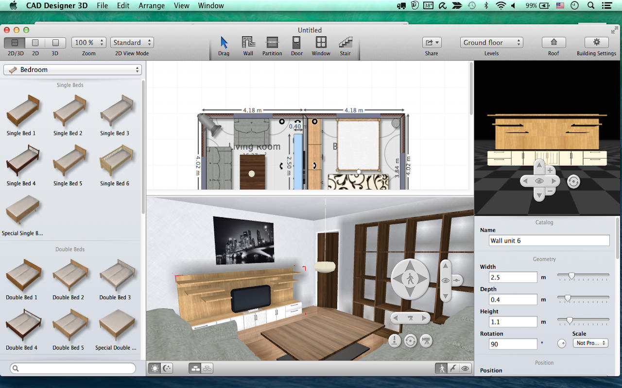 App Shopper Cad Designer 3d Interior Design Floor Plan Creator House Plans Home