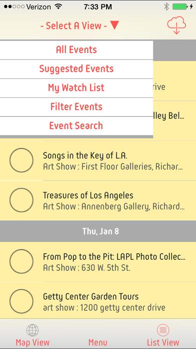 Free Events (events4free) screenshot