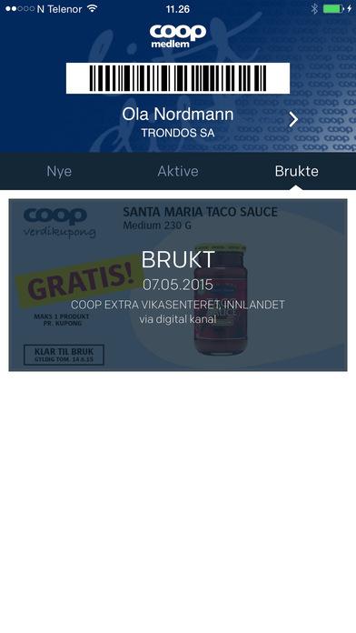coop medlemskort for ansatte