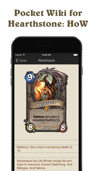 Pocket Wiki for Hearthstone: Heroes of Warcraft Unofficial