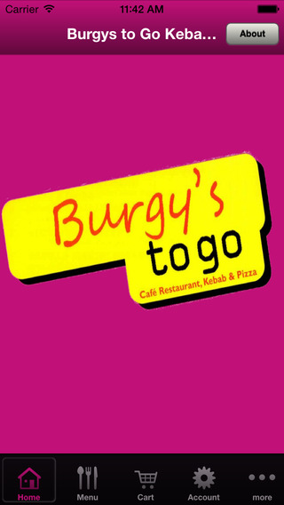 Burgys to Go Kebabs Pizza