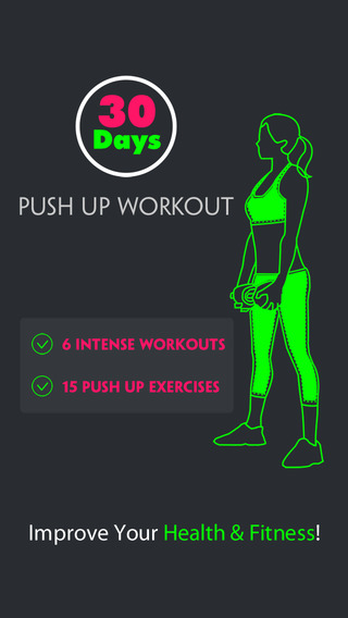 30 Days Push Up Workout Pro