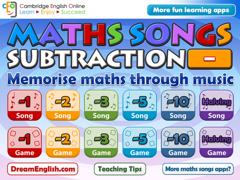 Maths Songs: Subtraction HD
