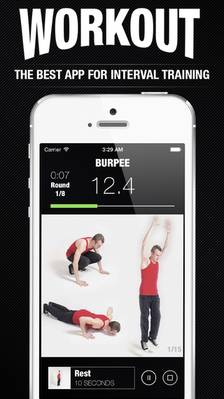 Workout app - instructor for interval wod and gymnastic tabata training