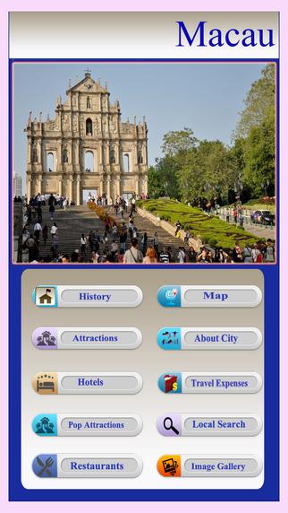 Macau Offline Travel Explorer