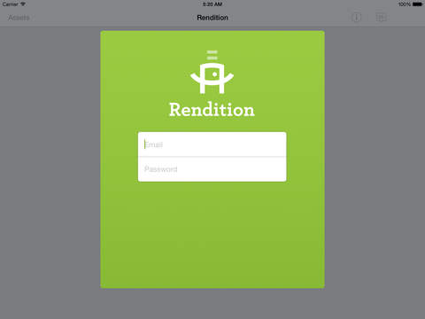 Rendition - amazing presentations by design