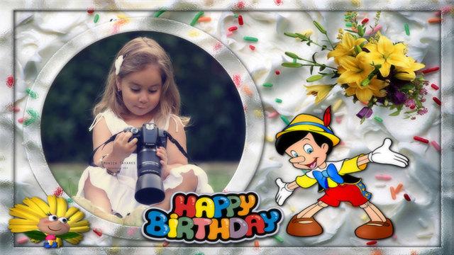 Photo Frames Birthday Photo Editor