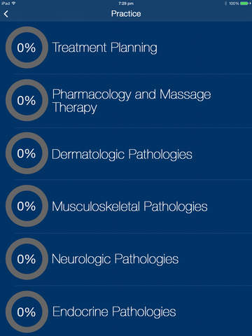 Massage Therapy Practice Tests Prep 2016 - Prepare MBLEx, NCETM, NCETMB, and FSMTB Exam Now. screenshot