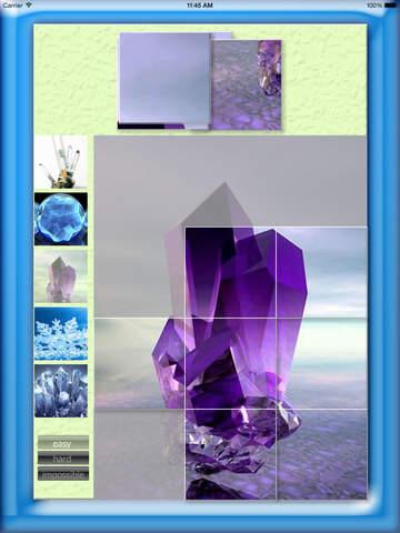 Crystals Puzzle