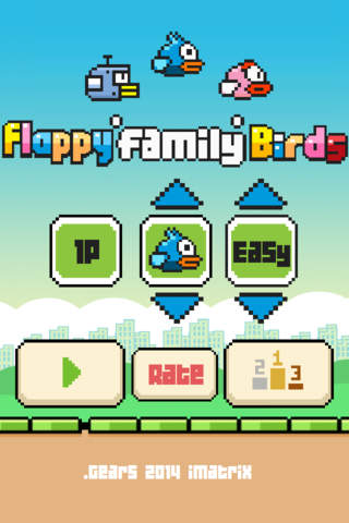 Flappy Family Birds : the new adventure screenshot 1