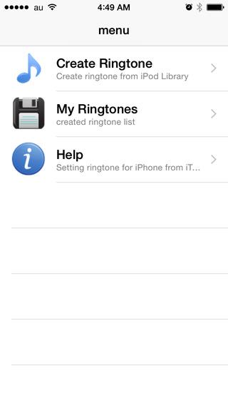 Ringtone Manager! iPhone Screenshot 3