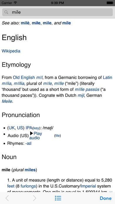 Wikipanion Screenshot