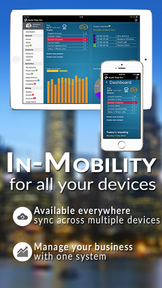 In-Mobility CRM Invoice