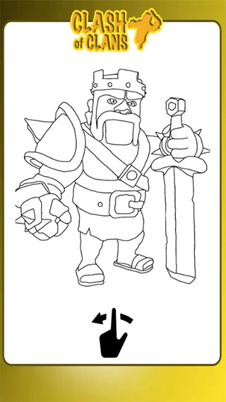 Game Coloring Books For Kids Clash Of Clans Edition Unofficial Fan App