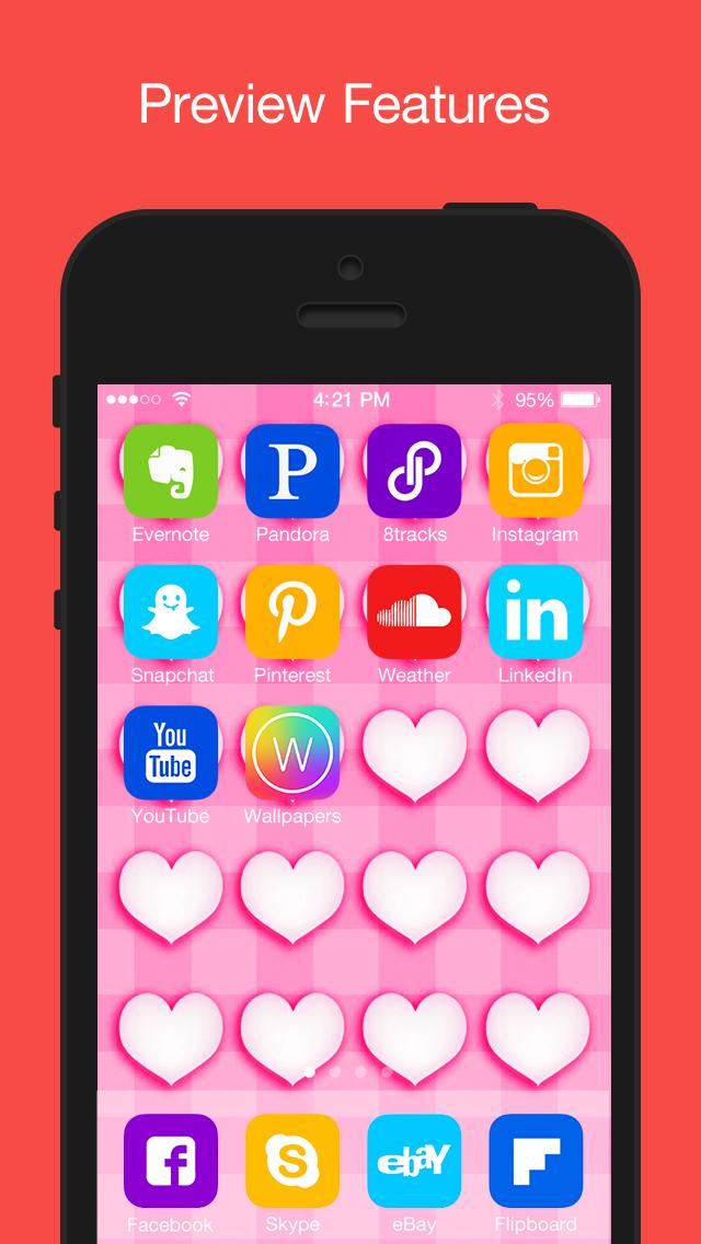 Calendar App Wallpaper Iphone : Magic themes cool custom lock screen home