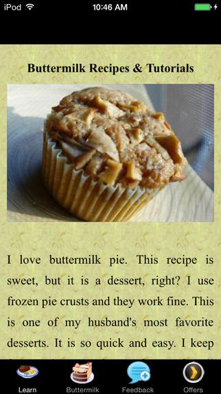 Buttermilk Recipes Tutorials