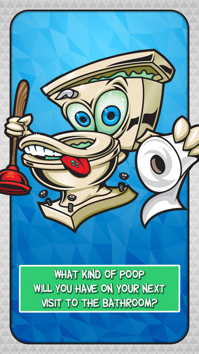 iPhone Screenshot 1. The Poo Calculator   A Funny Finger Scanner with Bathroom Humor