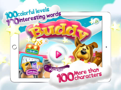 Dr. Buddy - play and learn. Educational alphabet for kids and toddlers.