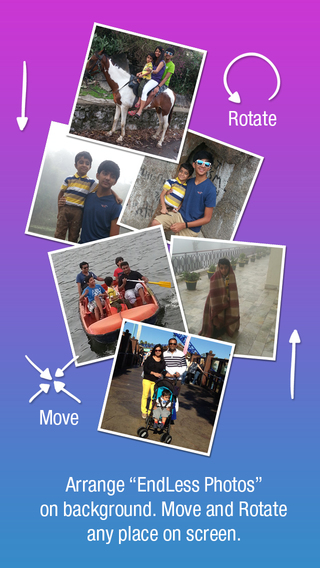 Customize Collage Photos Background Editor