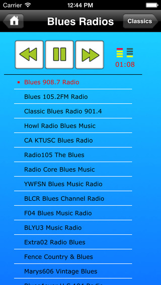 Blues Music Radios