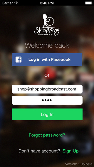 Shopping Broadcast