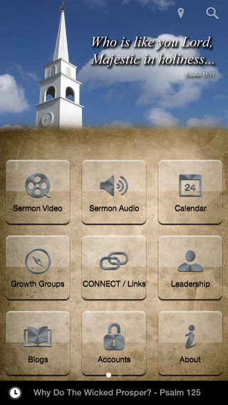 South Shore Baptist Church Mobile App