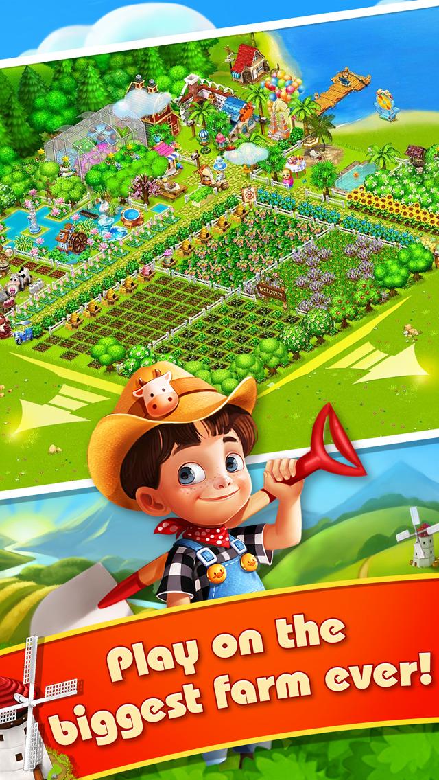 Family Farm Seaside - Play Free Farming App & Harvest Game Online