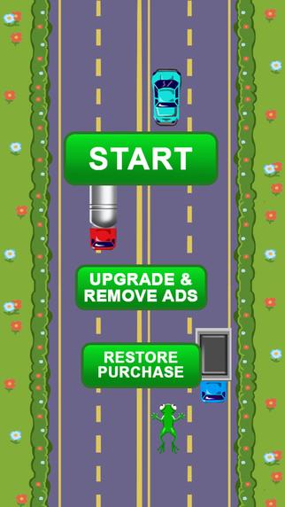 Frog Runner - Crossing Hopper Arcade Game