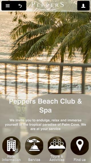Peppers Beach Club Spa