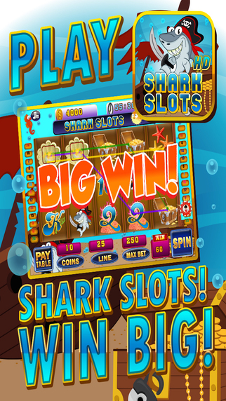 Ace Shark Slots - Fun Fish Tank Bash Vegas Slot Ma
