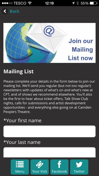 玩免費娛樂APP|下載Camden People's Theatre app不用錢|硬是要APP
