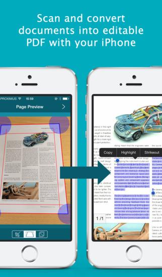 IRIScan to PDF – Paper to PDF Scanner Converter