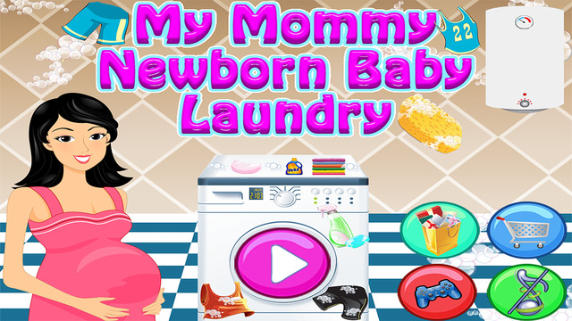 My Mommy Newborn Baby Care Laundry Family Adventure