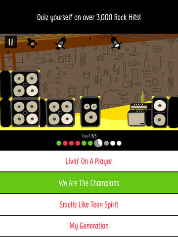 Rock On - A SongPop Adventure screenshot