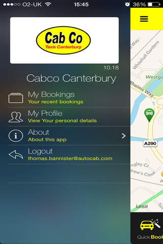Cabco Canterbury screenshot 1