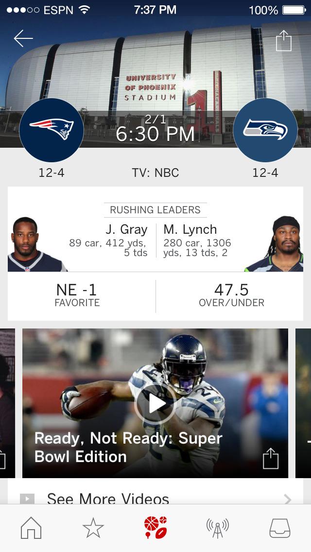 ESPN ScoreCenter screenshot 3