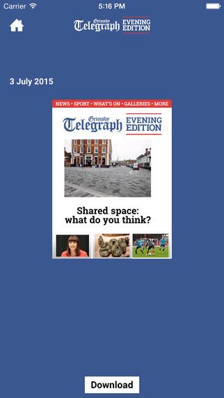 Grimsby Telegraph Evening Edition