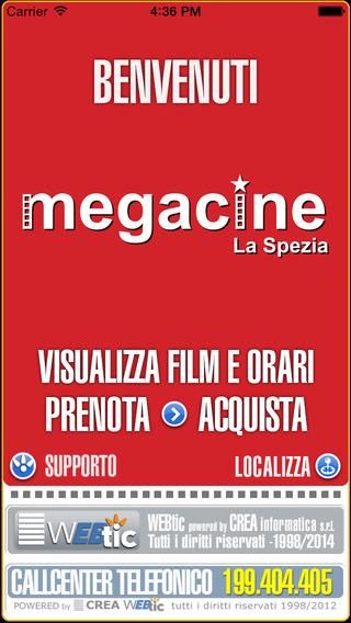 Webtic Megacine La Spezia Cinema Prenotazioni