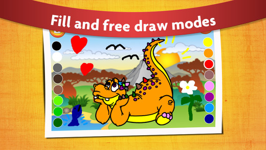 iphone screenshot 1 - Free Painting Games For Preschoolers