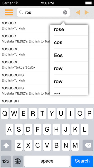 English Turkish Dictionary - Simple and Effective